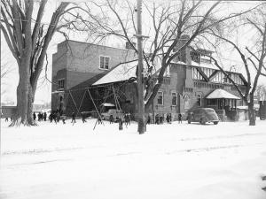 Bartonville School, circa. 1950