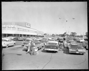 Centre Mall, August 1960
