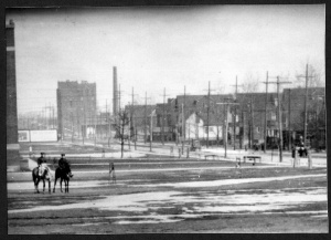Corner of Barton East and Kenilworth, circa. 1916