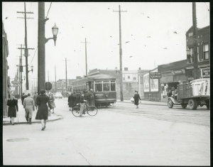 Hamilton Street Railway Belt Line, Kenilworth at Barton, 1942